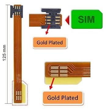 Mini-SIM Card Extender w/ Flexible Printed Circuit cable