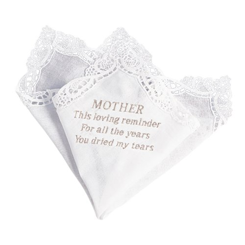 Ivy Lane Design Handkerchief, Mothers Tears, White