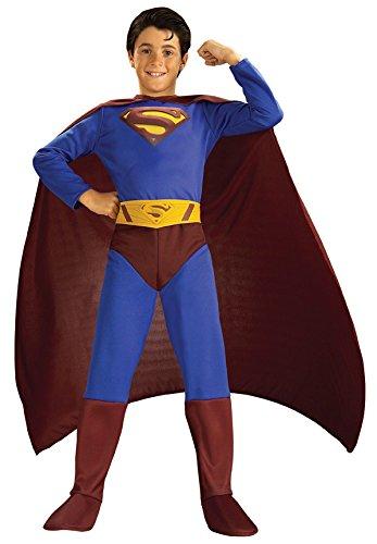 Big Boys' Classic Superman Costume - L ()