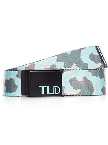 Troy Lee Designs Fleet Web Belt (Large/X-Large) (Black/Green)