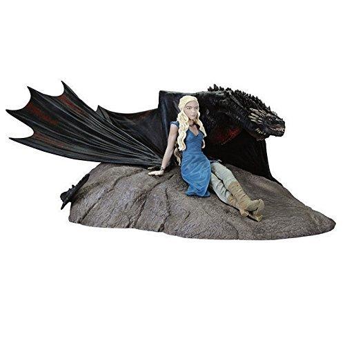 Dark Horse - Figurine Game of Thrones - Daenerys & Drogon 18cm - 0761568285741 B010HMAD16
