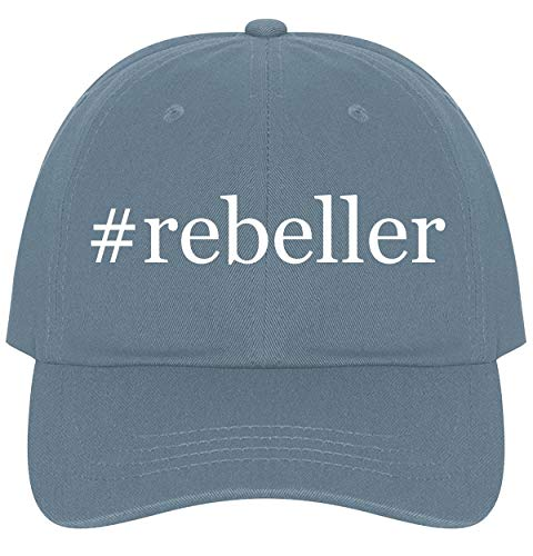 (The Town Butler #Rebeller - A Nice Comfortable Adjustable Hashtag Dad Hat Cap, Light Blue)