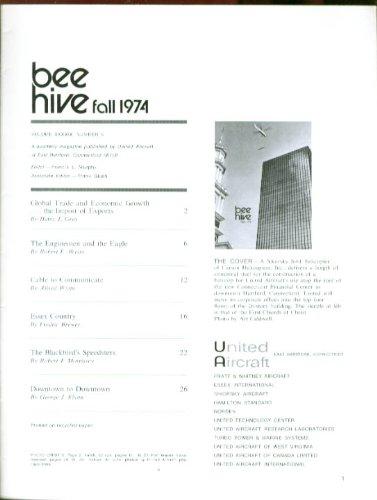 BEE-HIVE F-15 Eagle CATV Cable SR-71 record United Aircraft + Fall 1974