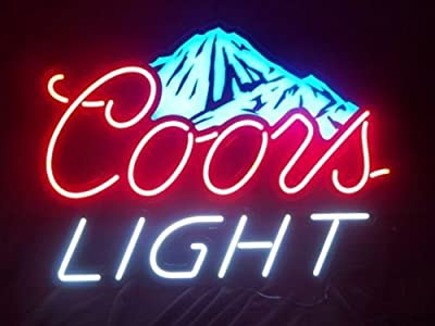 Urby™ CL Beer M ountain Custom Handmade Glass Tube Neon Light Sign 3-Year Warranty-Unique Artwork! HL184