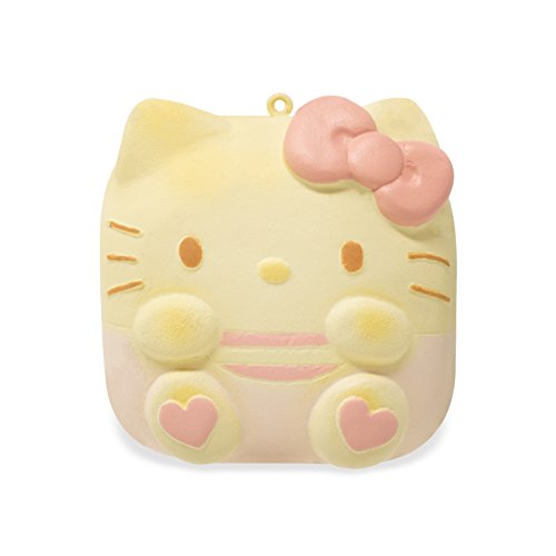 SANRIO Hello Kitty Sweet roll Squishy Ball Chain