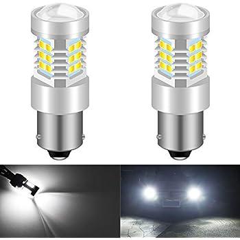 4X Ultra White Reverse Light 2018 Cree LED BAY15D 2357 2057 30 SMD Turn Signal