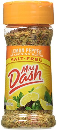 Salt Seasoning Free Pepper - Mrs. Dash Lemon Pepper Salt-Free Seasoning, Pack of 2