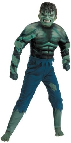 HULK CHILD MUSCLE 7-8 (Incredible Hulk Muscle Costume)