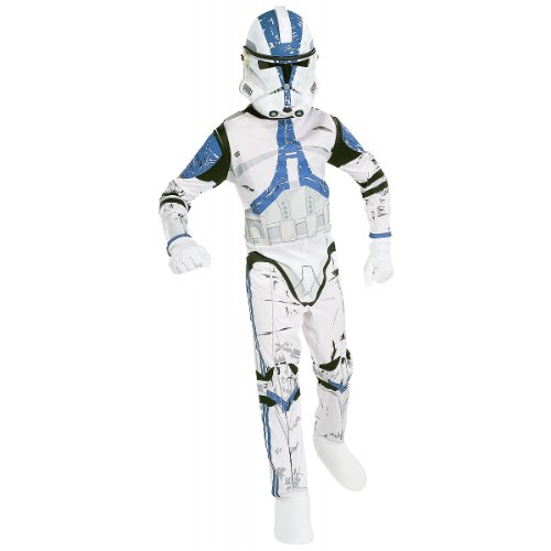 Blue Clone Trooper Costume (Clone Trooper Child Costume - Large)