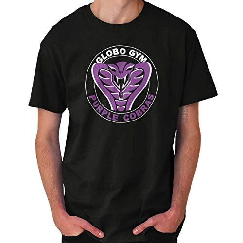 Dodgeball Movie Costumes (Globo Gym Purple Cobras Average Joes Gym T Shirt)