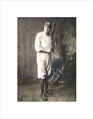 Used, The Art Stop SPORTGRAPH Portrait Babe Ruth Baseball for sale  Delivered anywhere in USA
