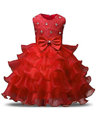 Wedding Pageant Bowknot Ruffles Princess product image