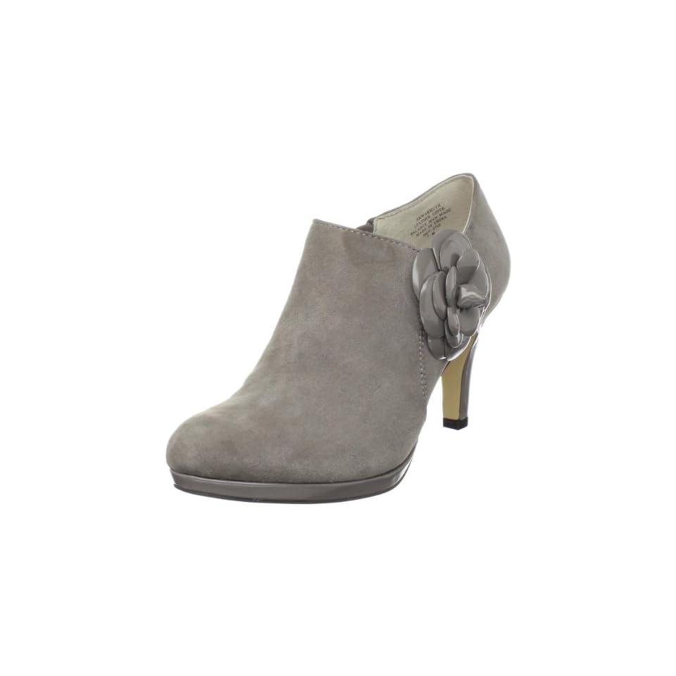 AK Anne Klein Womens Warmuth Ankle Boot,Grey Suede,9 M US