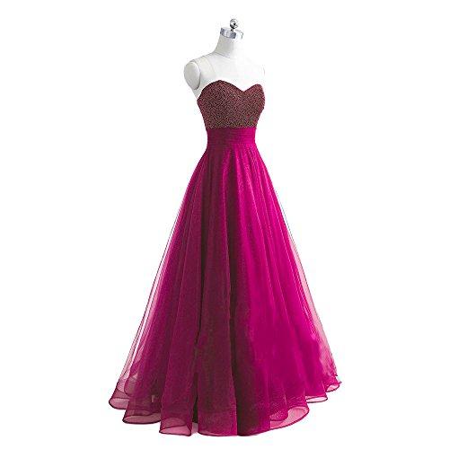 hot pink 15 anos dresses - 6