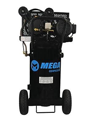 2-HP-MegaPower-Vertical-Air-Compressor 20 Gallon Single Stage MP-2020EV