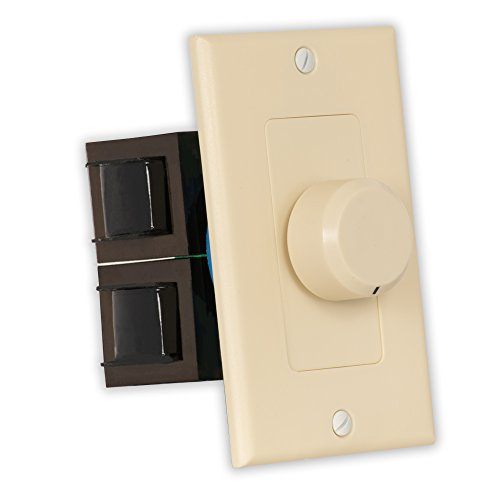 Theater Solutions TSVCD-I Indoor Speaker Volume Control Ivory Dial Audio ()