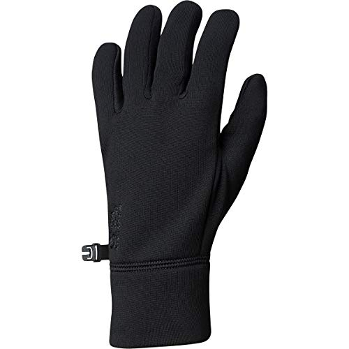 (Mountain Hardwear Unisex Power Stretch Gloves Black MD)