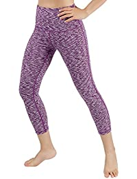 High Waist Yoga Pants Tummy Control Workout Running 4 Way Stretch Yoga Leggings With Hidden Pocket