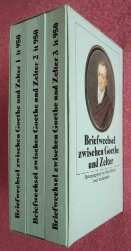 Briefwechsel zwischen Goethe und Zelter: 1796-1832 (Insel-Taschenbücher)