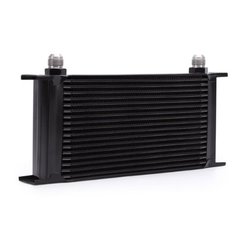 Mishimoto MMOC-19BK Universal 19 Row Oil Cooler Black