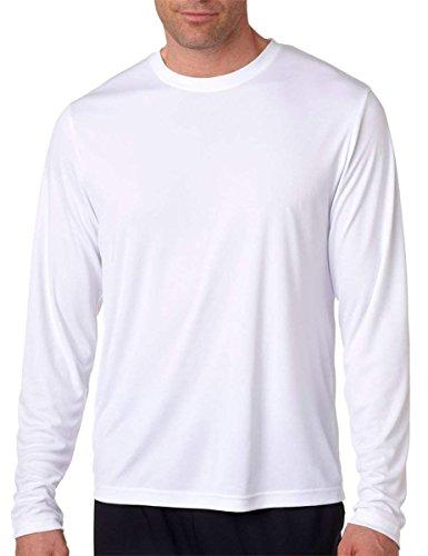 Hanes Cool DRI Performance Men's Long-Sleeve T-Shirt 2Pk by Hanes