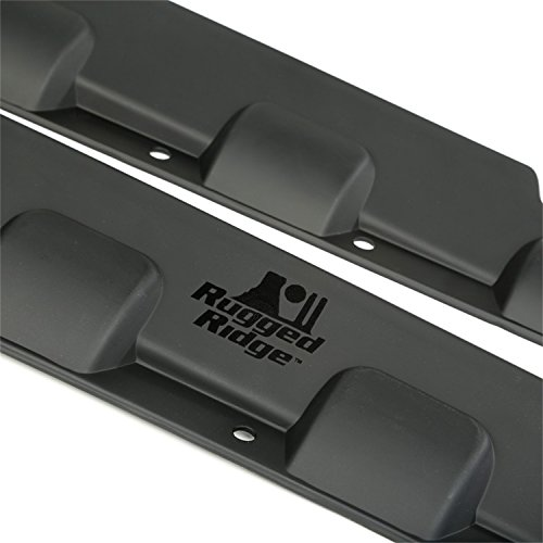 Rugged Ridge 11651.12 Body Armor Rocker Guard Kit for 4 Door Jeep Wrangler (Corner Wrangler Jeep)