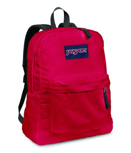 JanSport Superbreak Backpack (Red Tape)