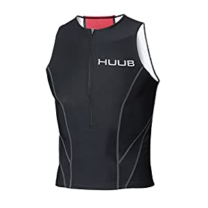 Huub Essential Tri Top – Black, 2X-Large/44-52-Inch