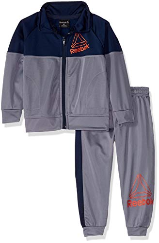 Reebok Boys Toddler Game Day Tricot Bomber Jacket and Jog Pant