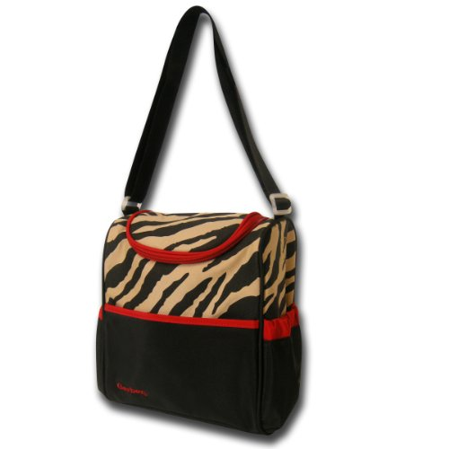 Gerber Bottle Bag, Brown Zebra ()