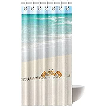 Curtains Ideas 36 wide shower curtain : Sea World Shower Curtain - Awesome Octopus Bathroom Shower ...