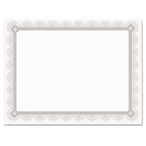 Premium Certificates (Set of 15) Color: - Channel Border Foil