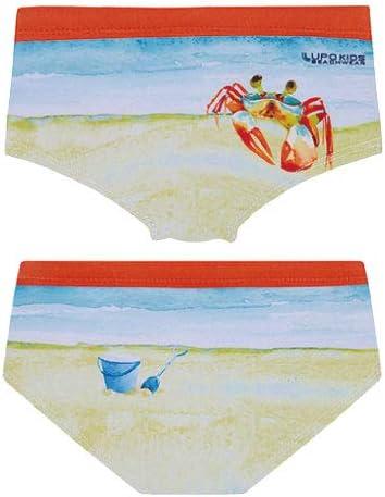 LUPO ルポ◆ブラジル ブラジルスイムウェア キッズ 男児 パンツ 水着 ボクサーパンツ カニ 海 lio28965
