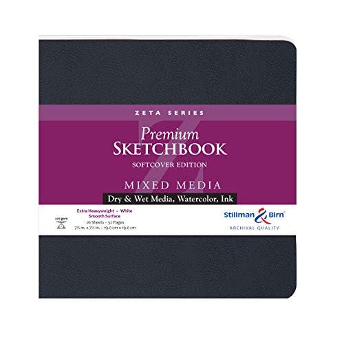 (Stillman & Birn Zeta Series Softcover Sketchbook, 7.5