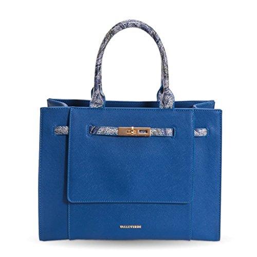 Bluette Avec Accessoire Valleverde À Tronc Main Sac Saffiano Sac Femme 95606 D'épaule zzwxqTEFZ