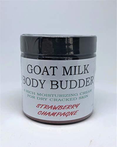 Bates Family Farm Goat Milk Body B'udder (Strawberry Champagne Fragrance)