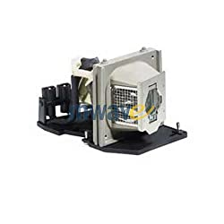 Mwave Lamp For Dell 2400mp Projector Replacement With Housing