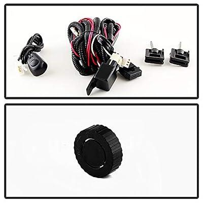 ACANII - For Black 1993-1997 Ranger Headlights +Corner Signal Lamps w/Fog Lights Driver + Passenger Side: Automotive
