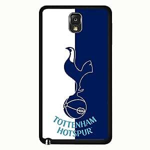 Samsung Galaxy Note 3 Case,Tottenham Hotspur Football Club Logo Protective Phone Case Black Hard Plastic Case Cover For Samsung Galaxy Note 3
