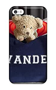 HVBZdxK4561QJtXX Snap On Case Cover Skin For Iphone 5/5s(navy Blue Pillow Personalized With Childs Name Shown With Teddy Bear)