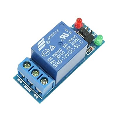 Uxcell DC 5V Single Channel NO NC Output Low Level Trigger Relay Module