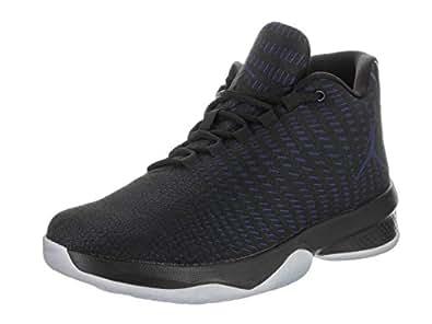 Jordan Mens Jordan B. Fly Black/Concord/White Basketball Shoe 9 Men US