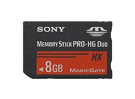 Sony MSHX8A-PSP - Tarjeta de Memoria Memory Stick Pro-HG Duo HX, 8 ...
