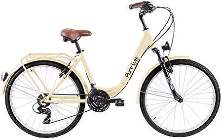 Biocycle Pure Lux Bicicleta de Paseo, Mujer, Beige, Única: Amazon ...