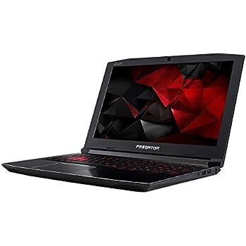 "Acer Predator Helios 300 15.6"" Full HD Gaming Flagship Premium Laptop PC, Intel Core i7-7700HQ, NVIDIA GeForce GTX 1060, 32GB RAM, 256GB SSD, MicroSD Card Reader, Backlit Keyboard, Windows 10"
