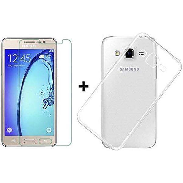 PLANETMOVIL Compatible con Samsung Galaxy J5 (2016) Pack DE ...