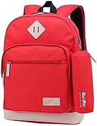 ABage Unisex School Backpack Waterproof Bookbag Travel College Travel Backpacks