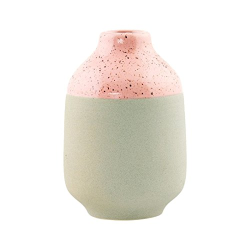 House Doctor - Vase - Earth, rose/grey - Durchmesser: 10 cm / Höhe: 15 cm