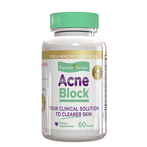 ACNE BLOCK - Natural Treatment for Smooth Complexion, Clears Blackheads, Pimples and...