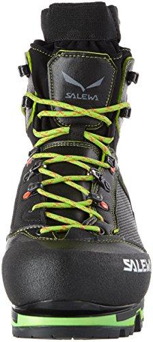 SALEWA Vultur Vertical Gore-Tex, Scarpe da Arrampicata Alta Uomo Nero (Black / Cactus 0916)